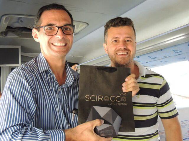 Scirocco participa do primeiro Design IN Tour 40