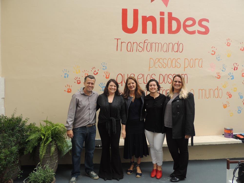 Scirocco Artefatos participando do projeto social UNIBES em São Paulo 2